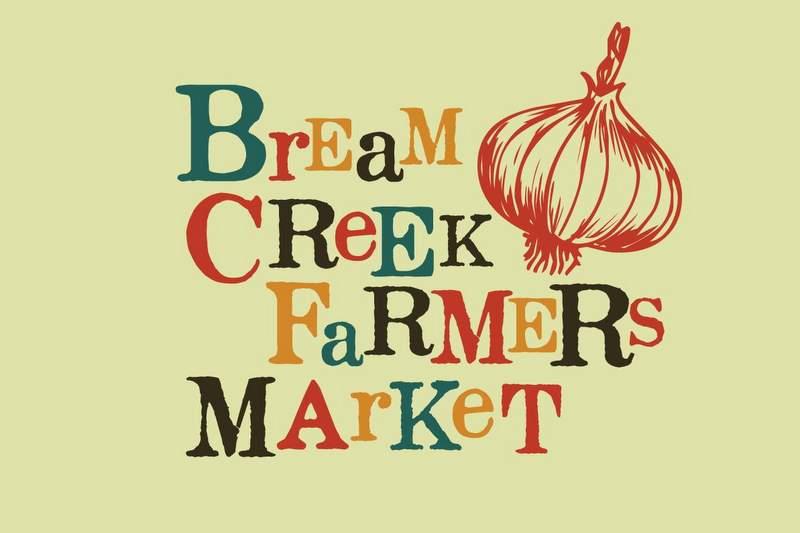 Bream Creek Farmers Market Logo!