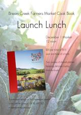 Long Table Lunch – celebrate the lauch of the Cook Book on Dec 1!