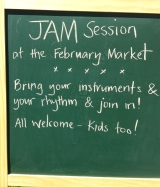JAM Session at the February Market