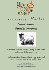 Our First Livestock Market with very specialguest!